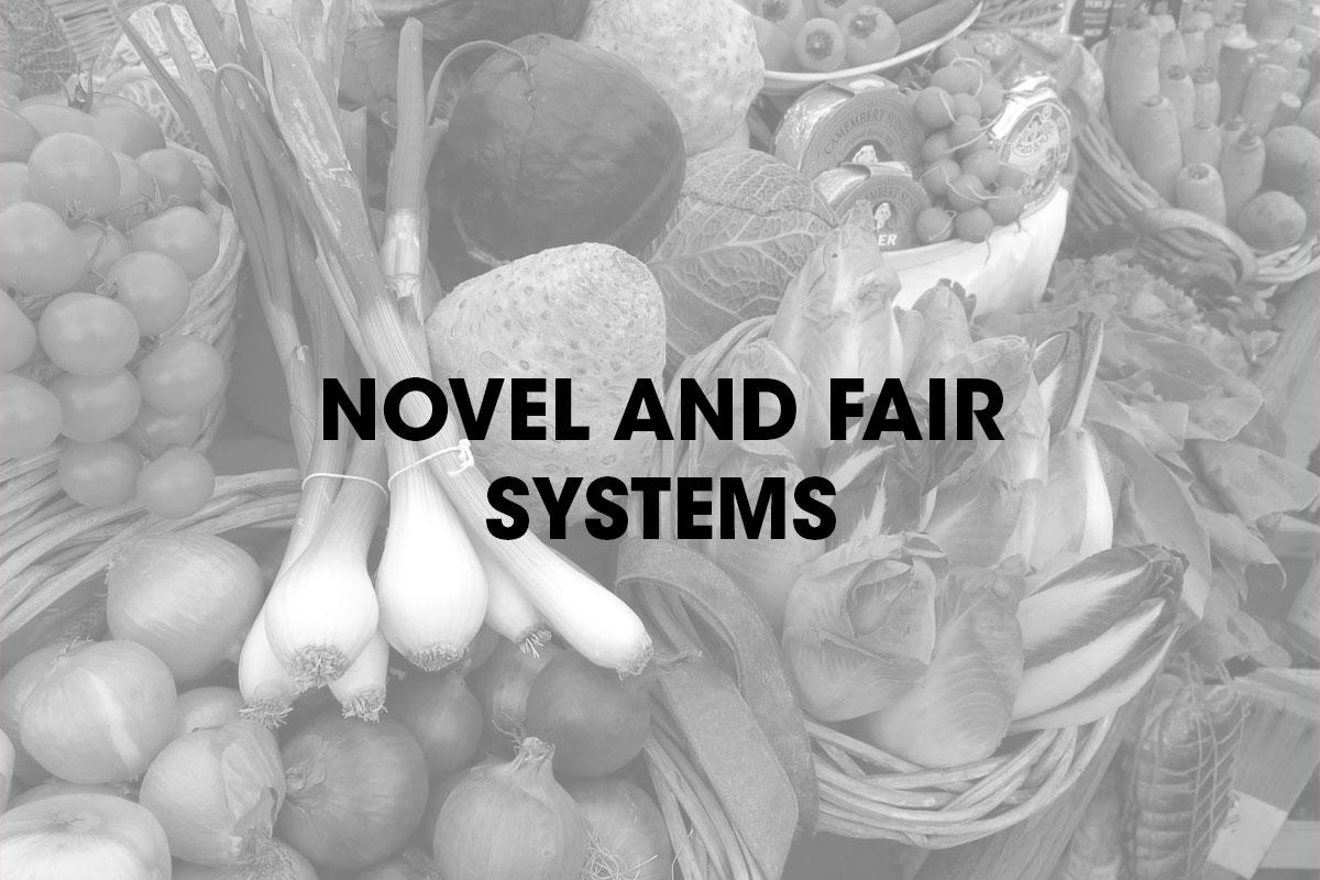 Novel and fair systems